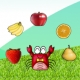 아기자동차 과일먹기