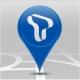 T map KT, LGU+(핸들)