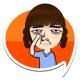 퍼니스티커 - 코믹, 엽기 얼굴자동변형 스티커